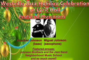 Westville Jazz Holiday Celebration