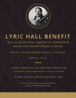 The Lyric Hall Sustainability Benefit
