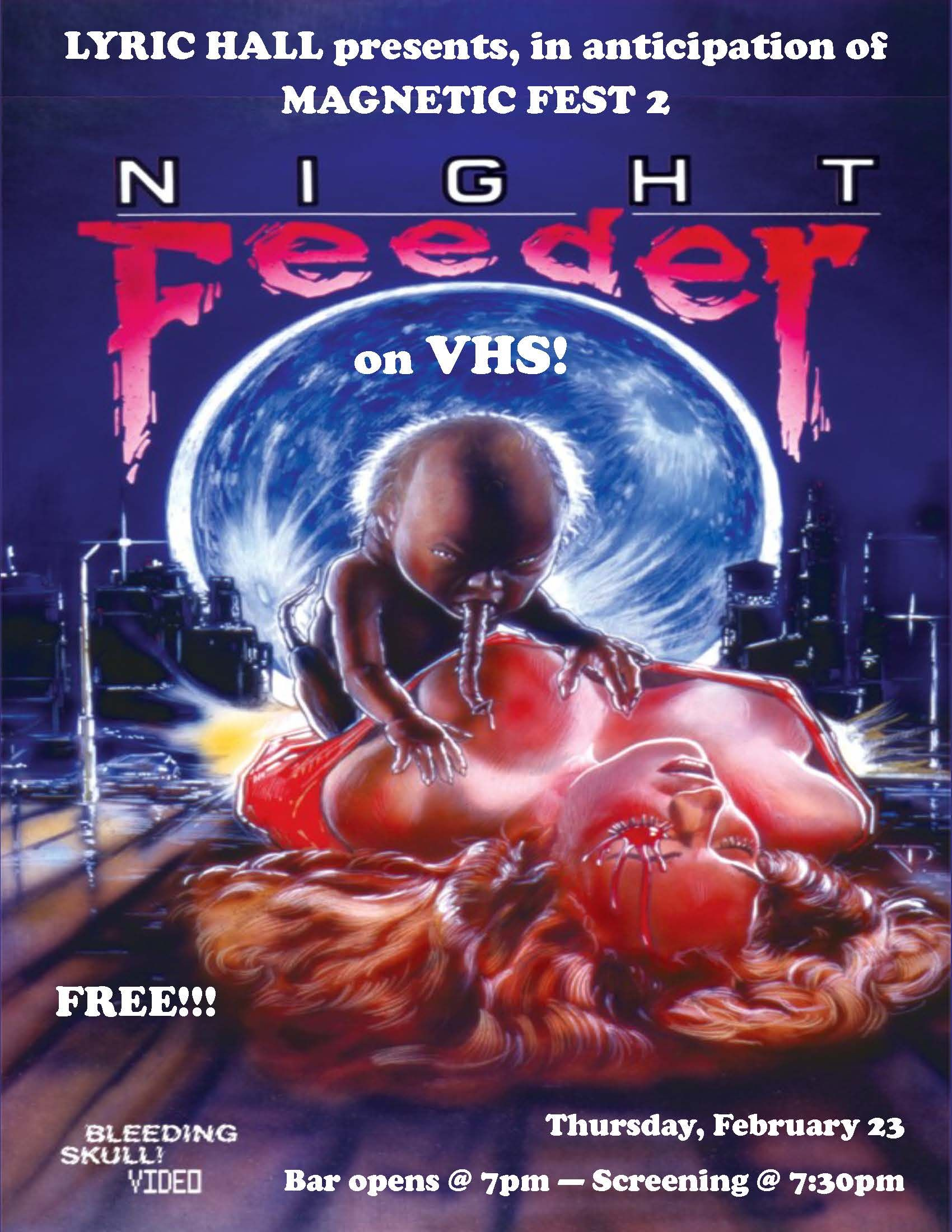 Bleeding Skull Video's Night Feeder