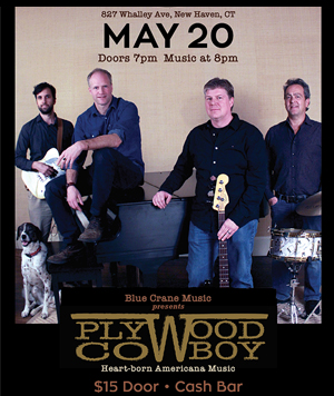 Blue Crane Music presents Plywood Cowboy