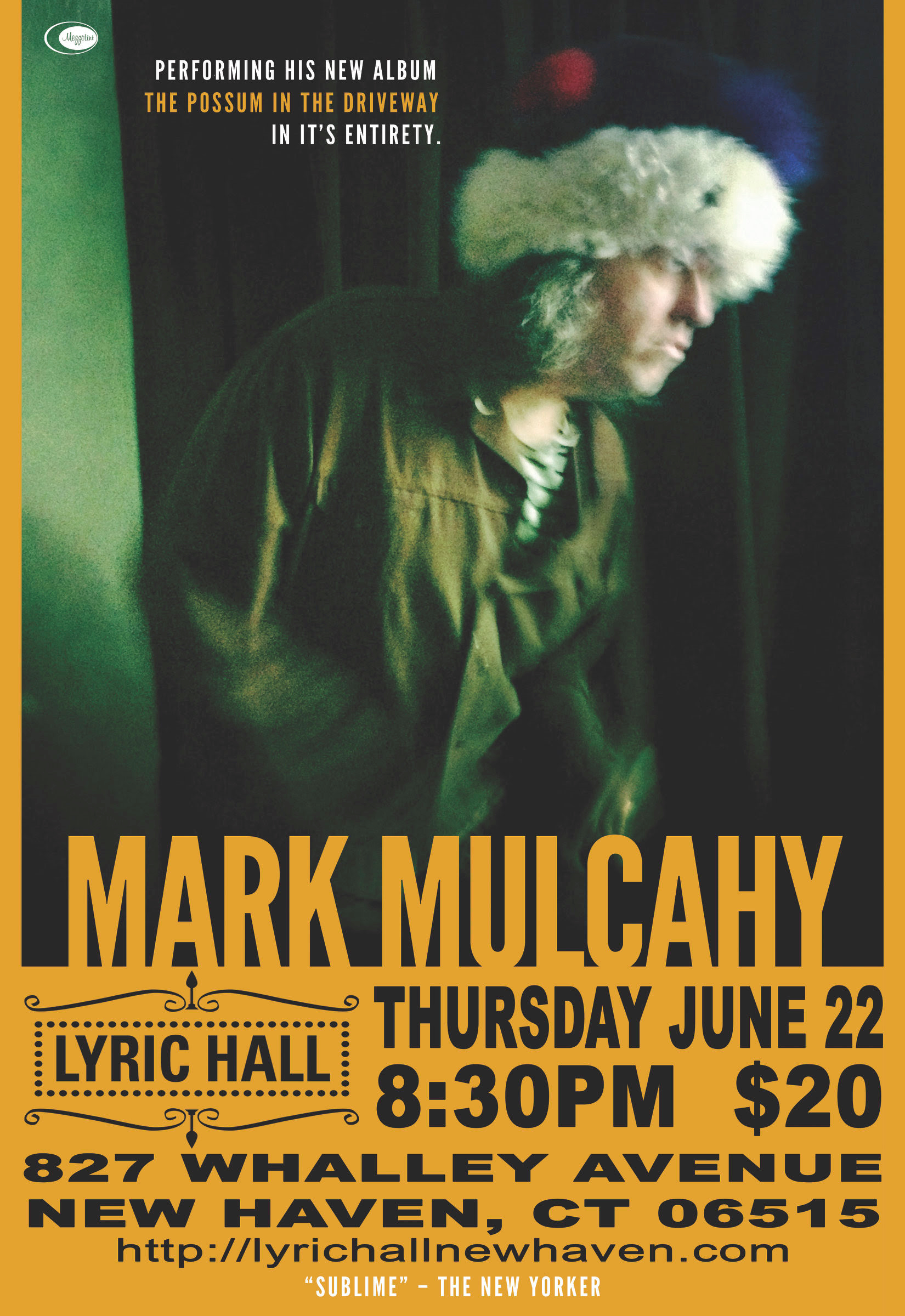 Mark Mulcahy Live At Live Hall