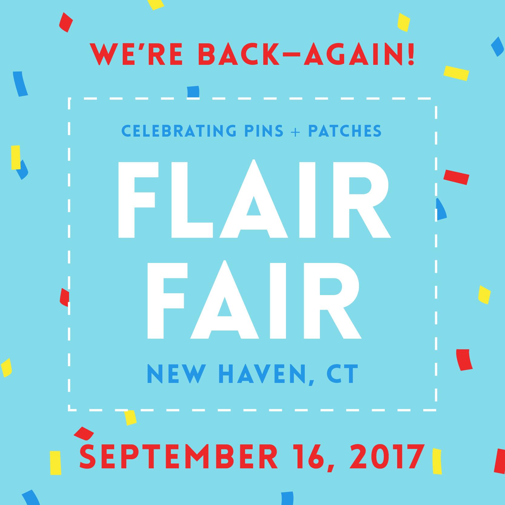 Flair Fair — Back for Round Three!