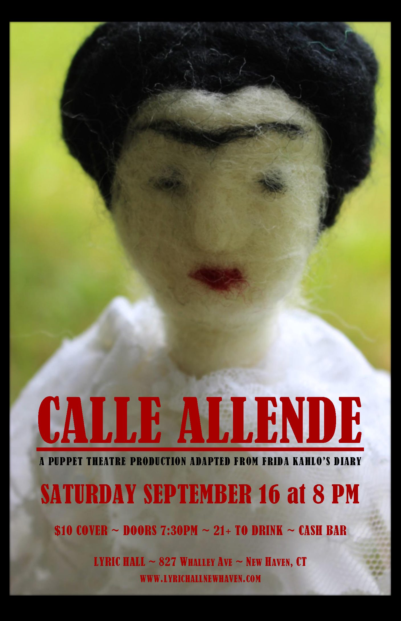 Calle Allende: A puppet theatre production