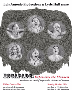 Escapade:  Experience The Madness