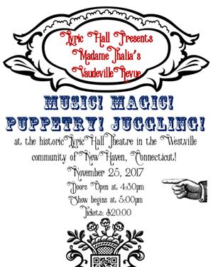 Madame Thalia's Vaudeville Revue
