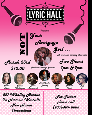 "Join us for ""Not Your Average Girl"""