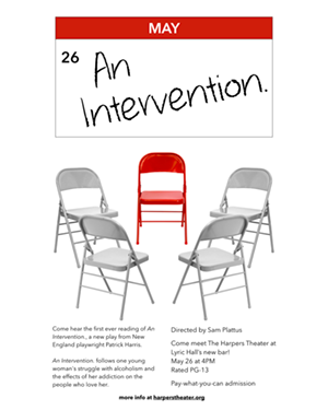 An Intervention: Reading of a new play!