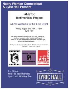 #MeToo Testimonials Project
